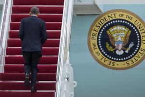 Obama by Manuel Balce Ceneta