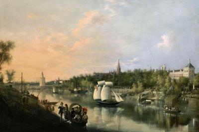 El Guadalquivir a Su Paso Por Sevilla, 1851