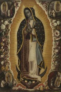 Virgin of Guadalupe (La Virgen de Guadalupe), 1691 by Manuel de Arellano