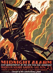 FDNY Midnight Alarm by Manuel Delosas