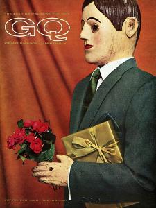 GQ Cover - September 1960 by Manuel Denner
