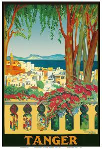 Tangier (Tanger) Morocco by Manuel Diaz Merry