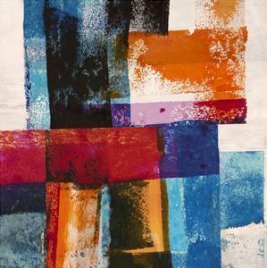 Colors in Space II by Manuel Navarro
