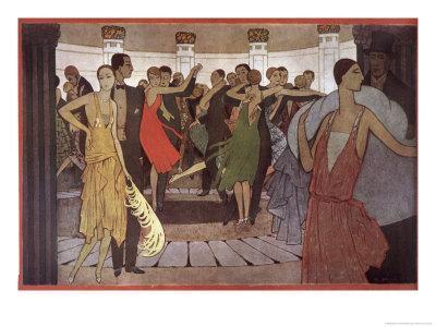 Paris la Nuit dans Un Dancing de Montmartre