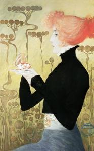 Portrait of Sarah Bernhardt by Manuel Orazi