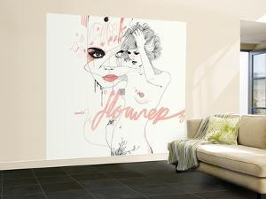 Pink Flower by Manuel Rebollo