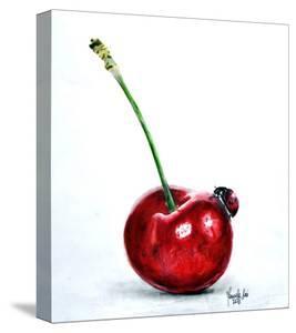 Ladybug And Cherry by Manuela Lai
