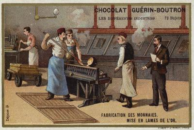Manufacturing Coins--Giclee Print