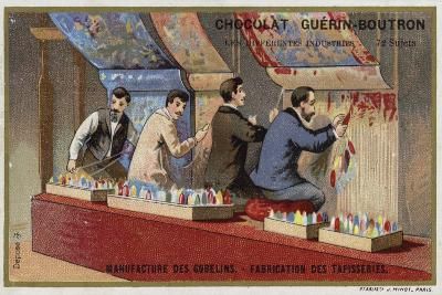 Manufacturing Tapestries at the Gobelins Manufactory--Giclee Print