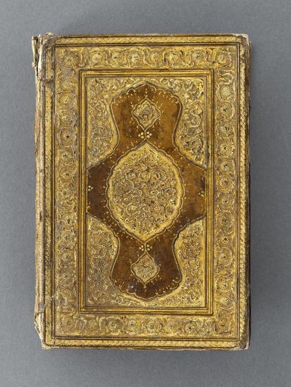 Manuscrit, reliure à décor de mandorle--Giclee Print