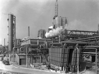 Manvers Coal Preparation Plant, Near Rotherham, South Yorkshire, 1956-Michael Walters-Photographic Print