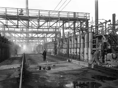Manvers Coal Processing Plant, Wath Upon Dearne, Near Rotherham, South Yorkshire, 1957-Michael Walters-Photographic Print