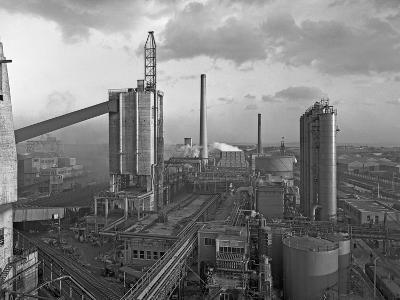 Manvers Coal Processing Plant, Wath Upon Dearne, Near Rotherham, South Yorkshire, February 1957-Michael Walters-Photographic Print