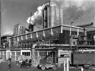 Manvers Coal Processing Plant, Wath Upon Dearne, Near Rotherham, South Yorkshire, January 1957-Michael Walters-Photographic Print