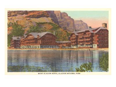 Many Glacier Hotel, Glacier Park, Montana--Art Print