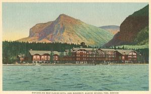 Many Glacier Hotel, Glacier Park, Montana