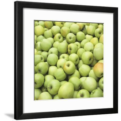 Many Green Apples (Full Frame)-Foodcollection-Framed Photographic Print