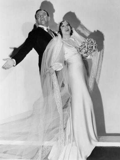 Many Happy Returns, George Burns, Gracie Allen, 1934--Photo