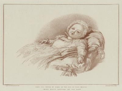 Many Happy Returns of the Day-Sir George Hayter-Giclee Print