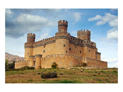 Manzanares Real Castle Spain--Art Print