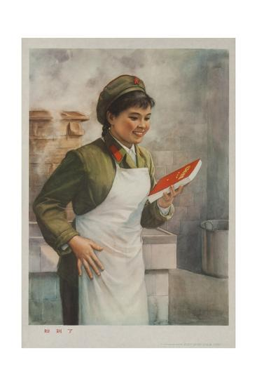 Mao's Book Is Finally Here! Chinese Cultural Revolution--Giclee Print