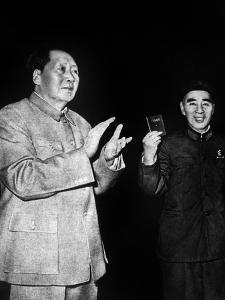 Mao Tse Toung and Lin Piao, C. 1966