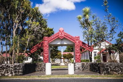 Maori Church, Waitangi Treaty Grounds, Bay of Islands, Northland Region, North Island-Matthew Williams-Ellis-Photographic Print