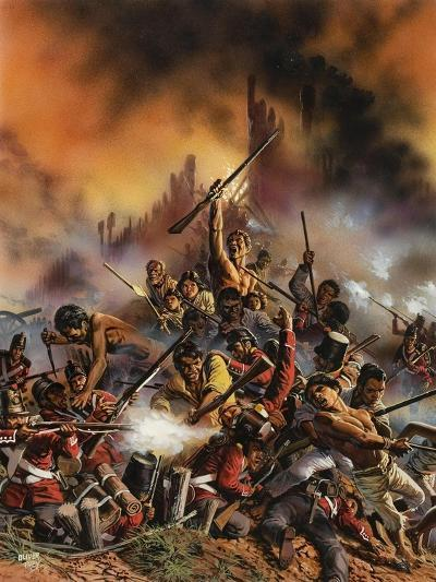 Maori Rebellion-Oliver Frey-Giclee Print