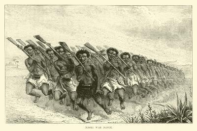 Maori War Dance--Giclee Print