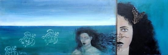 Maori Woman ,2015-Susan Adams-Giclee Print