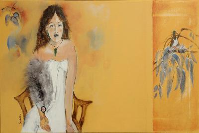 Maori Woman Study 3, 2015-Susan Adams-Giclee Print