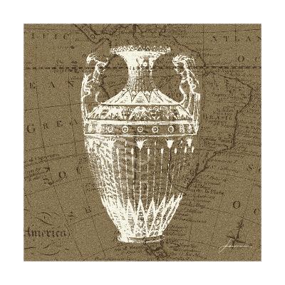 Map Bottles II-James Burghardt-Art Print