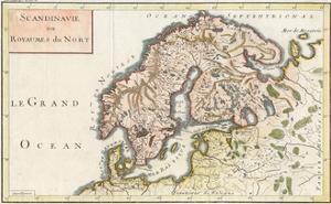 Map, Europe, Scandinavia