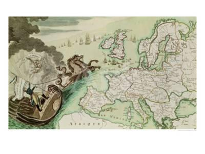 Map Of England Circa 900.Map Illustrating The Naval Attack On England By Napoleon Bonaparte
