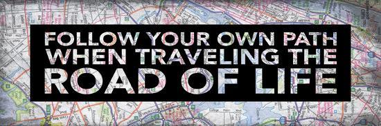 Map Inspirational 2-Jace Grey-Art Print