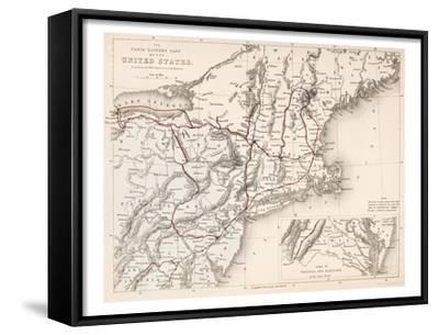 Map: Northeast U.S.A