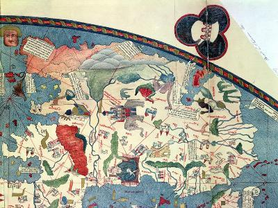 Map of Africa, after an Original of 1447--Giclee Print