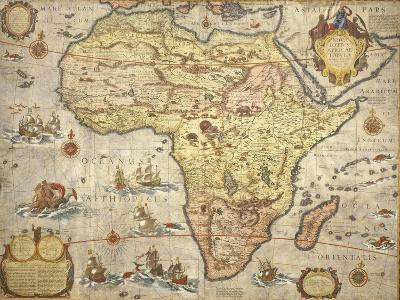 Map of Africa in 1686-Joan Blaeu-Giclee Print