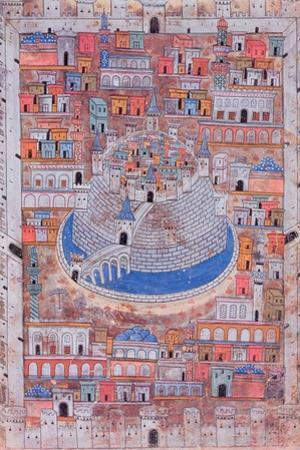 Map of Aleppo, C.1600