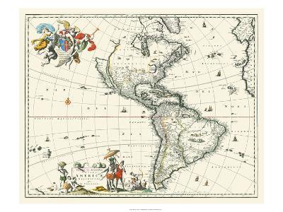 Map of America--Art Print