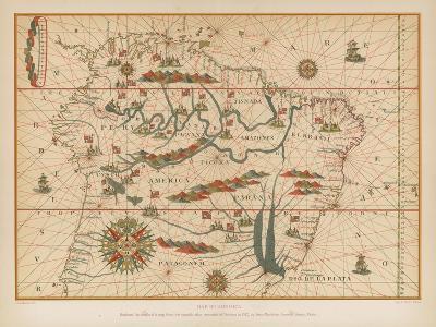 Map of America--Giclee Print
