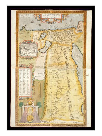 Map of Ancient Egypt, 1584 Giclee Print by Aham Ortelius | Art.com Printable Map Of Ancient Egypt on printable map of africa, printable map of ancient civilizations, printable map of china, printable ancient egyptian gods, printable map of the rainforest, library of ancient egypt, printable map of ancient world, printable map of ancient middle east, printable map of ancient babylon, printable map of the revolutionary war, printable detailed map of egypt, aerial view of ancient egypt, wildlife of ancient egypt, printable current events in science, world of ancient egypt, printable map of nile river, printable map of cold war, amenities of ancient egypt, virtual tour of ancient egypt, printable map of easter island,