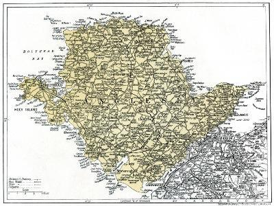 Map of Anglesey, 1924-1926--Giclee Print