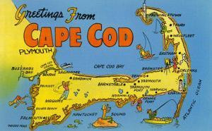 Beautiful Maps of Cape Cod, MA artwork for sale, Posters and Prints ...