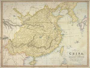 Map of China and the Adjacent Countries, W.H. Allen & Co, 1842