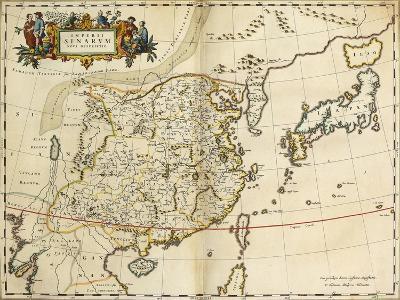 Map of China, from 'Atlas Maior Sive Cosmographia Blaviana', 1662-Joan Blaeu-Giclee Print