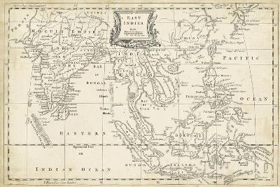 Map of East Indies-T^ Jeffreys-Art Print