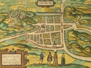 Map of Edinburgh from Civitates Orbis Terrarum
