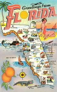 Map of Florida