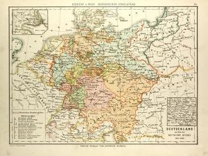 map of germany 1815 1866